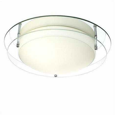 Litecraft - Energy Saving Flush Glass Ceiling Light