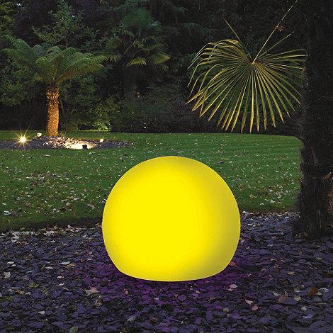 Litecraft - Yellow CFL 60cm Illuminated Decorative Ball Light