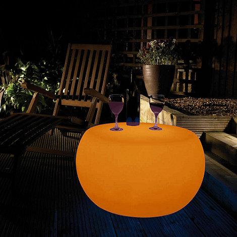 Litecraft - Orange CFL Illuminated Table