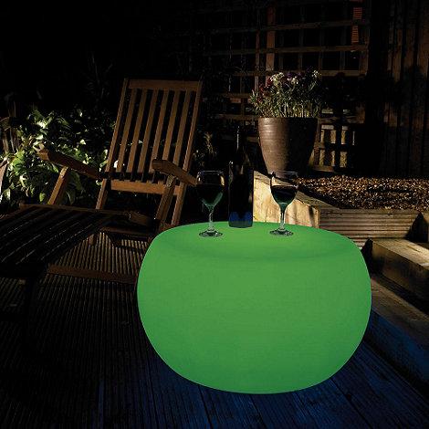 Litecraft - Green CFL Illuminated Table