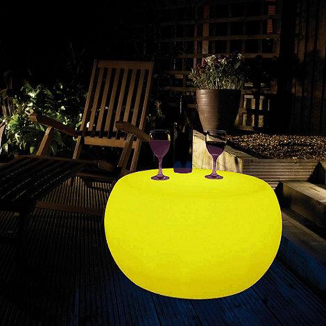 Litecraft - Yellow CFL Illuminated Table