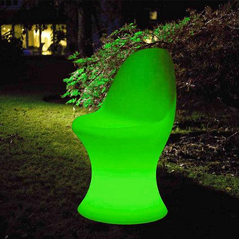 Litecraft - Green CFL Illuminated Dining Chair