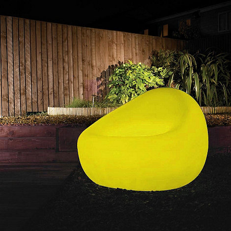 Litecraft - Yellow CFL Illuminated Tub Chair
