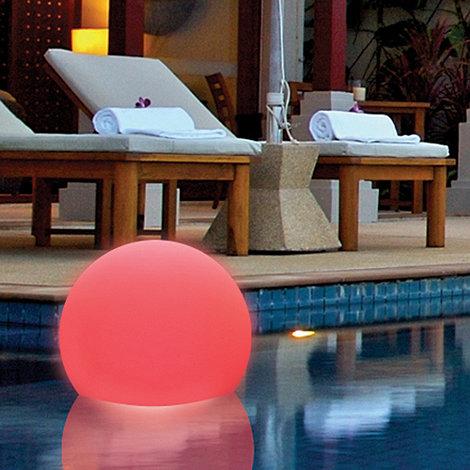 Litecraft - 7 Colour Changing LED Illuminated Floating Ball Light