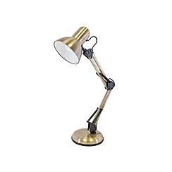 Litecraft - Antique Brass Hobby Desk Lamp