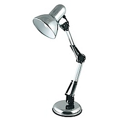 Litecraft - Polished Chrome Hobby Desk Lamp