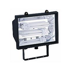 Litecraft - Outdoor Black Energy Saving Floodlight