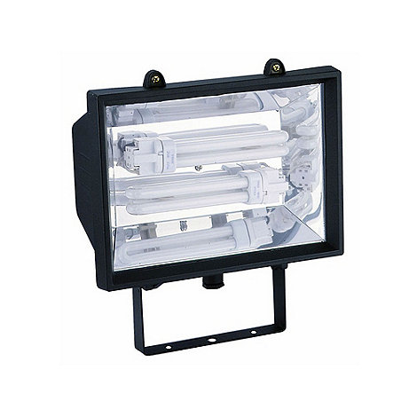 Litecraft - Outdoor Black Energy Saving Floodlight
