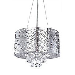 Litecraft - Ashley 6 light dual mount ceiling light