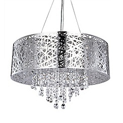 Litecraft - Ashley 9 light dual mount ceiling light