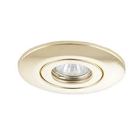 Litecraft - 2 Brass recessed downlight conversion kits