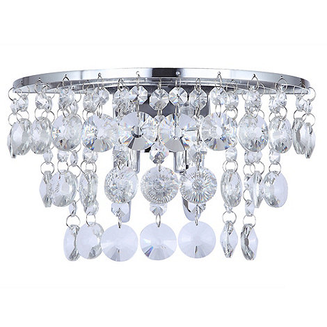Litecraft - Montego Chrome Wall Light