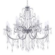 Madonna 12 Light Dual Mount Chrome Chandelier
