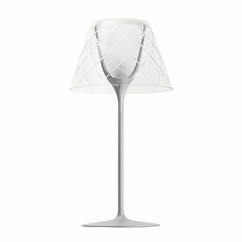Litecraft - Replica Circa 1949 Etched Glass Table Lamp