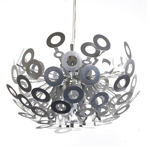 Litecraft - Replica Circa 1956 Stainless Steel Pendant Light