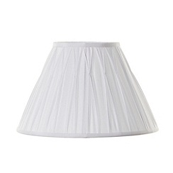 Litecraft - Fenn 12 inch White lamp shade