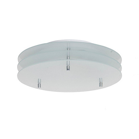Litecraft - Traos frosted glass flush ceiling light