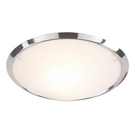 Litecraft - Demy chrome flush ceiling light