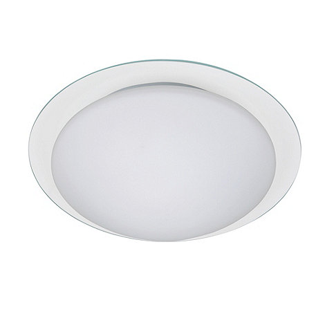 Litecraft - Aida double glass flush ceiling light