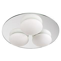 Litecraft - Lazio bathroom mirrored ceiling light