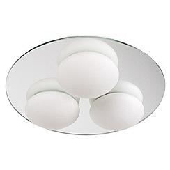 Litecraft - Lazio bathroom mirrored ceiling light