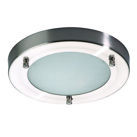 Litecraft - Mari Stainless Steel flush bathroom light