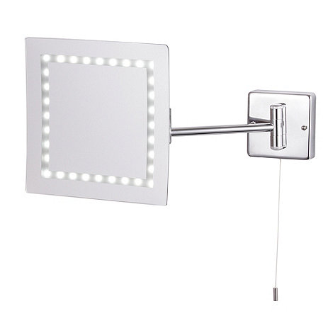 Litecraft - Toscana LED Square Magnifying Mirror