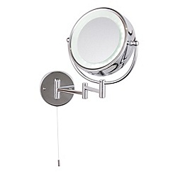 Litecraft - Toscana LED round magnifying mirror