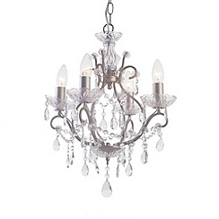 Litecraft - Washington 4 light chandelier