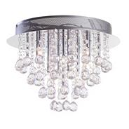 Moore 15 Light Flush Ceiling Light - Chrome