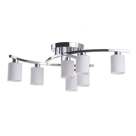 Litecraft - Atlanta 7 Light Flush Ceiling Light
