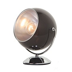 Litecraft - Eye Ball Table Lamp - Black