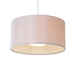 Litecraft - Small Ribbon Shade in mocha