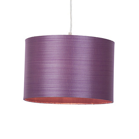 Litecraft - 30cm Fabric Easy Fit Ceiling Shade - Lavender