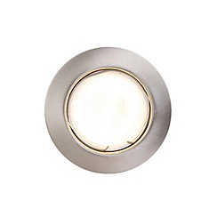 Litecraft - Frea 1 light Satin Chrome recessed downlight