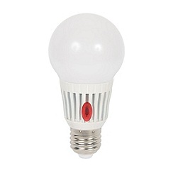 Litecraft - 7 Watt E27 Edison Screw LED Light Bulb w/ Dusk to Dawn Sensor - Cool White