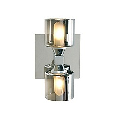 Litecraft - Tarum 2 light bathroom wall light in Chrome