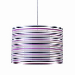 Litecraft - Balfour striped pendant shade ceiling light