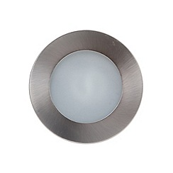 Litecraft - 1 Light Recessed Downlight - Satin Chrome