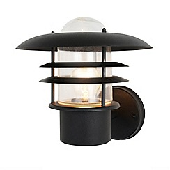 Litecraft - Lark Tiered Outdoor Wall Lantern - Black