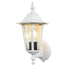 Litecraft - Arun Outdoor Diecast Aluminium Wall Light - White