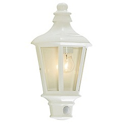 Litecraft - Perry outdoor pir White half lantern