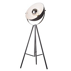 Litecraft - Parabolic floor lamp in Black with led bulbs