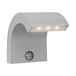 Litecraft - Philips MyGarden Riverbank LED Wall Light with Motion Sensor - Grey