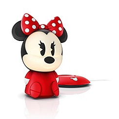 Litecraft - Philips Disney Children's Minnie Mouse LED Night Light Table Lamp