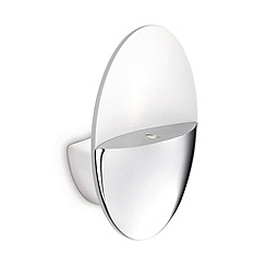 Litecraft - Philips Geos LED Ledino Chrome uplighter wall light