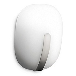 Litecraft - Philips Ecomoods Mindful glass Matt Chrome wall light
