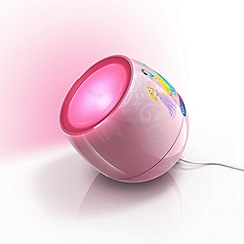 Litecraft - Philips Disney kid's led livingcolors micro princess multi-colour table lamp