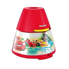 Litecraft - Philips Disney's Cars projector night light table lamp