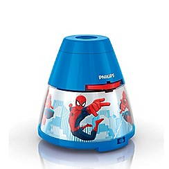 Litecraft - Philips spiderman children's projector night light table lamp